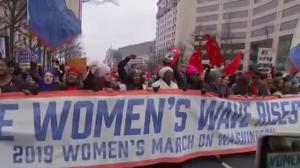Third annual Women's March held in Washington, cities around the world